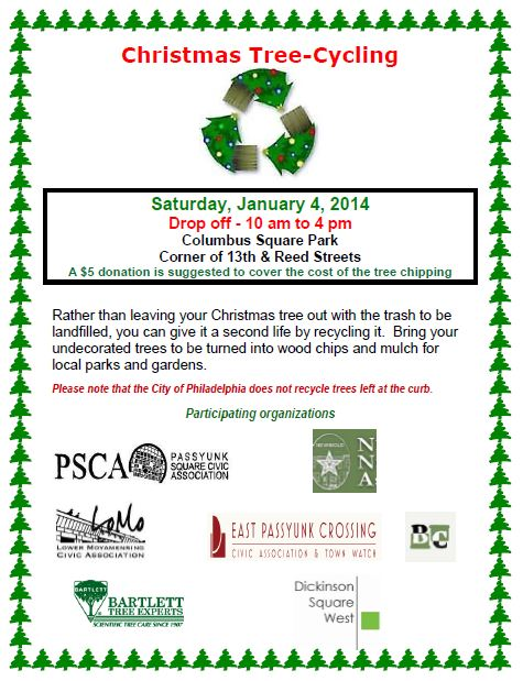 2014 SP Treecycling Event