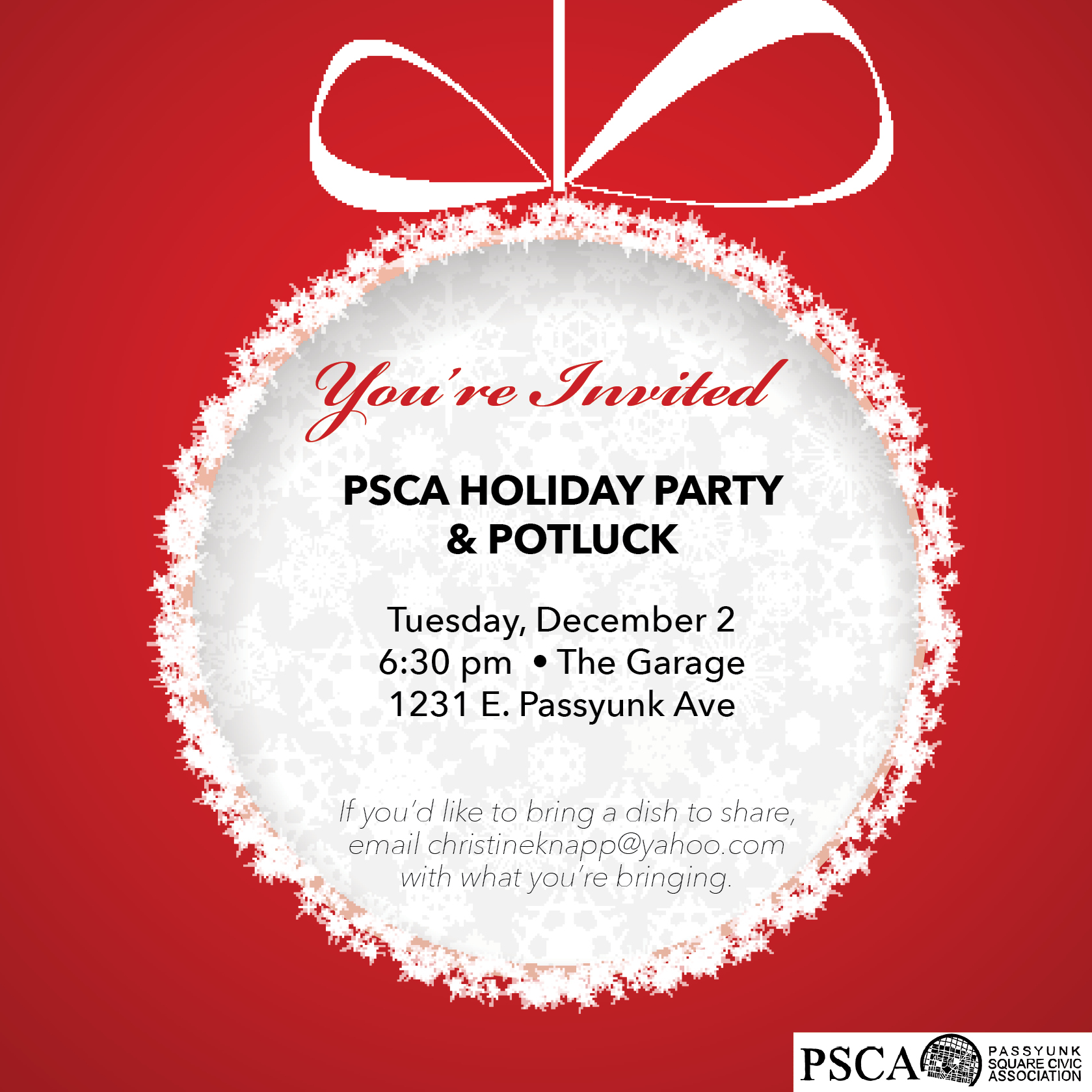 Passyunk Square Civic Association » Holiday Events!